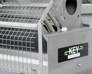 Geringe Wartungskosten tri-rod Separator